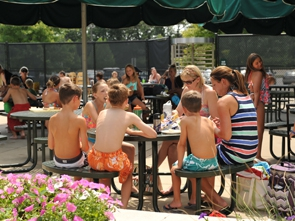 Grab a quick snack or beverage at Hunt Club Park Aquatic Center