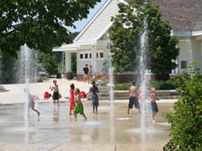 Spray ground is FREE and open from Memorial Day - Labor Day.