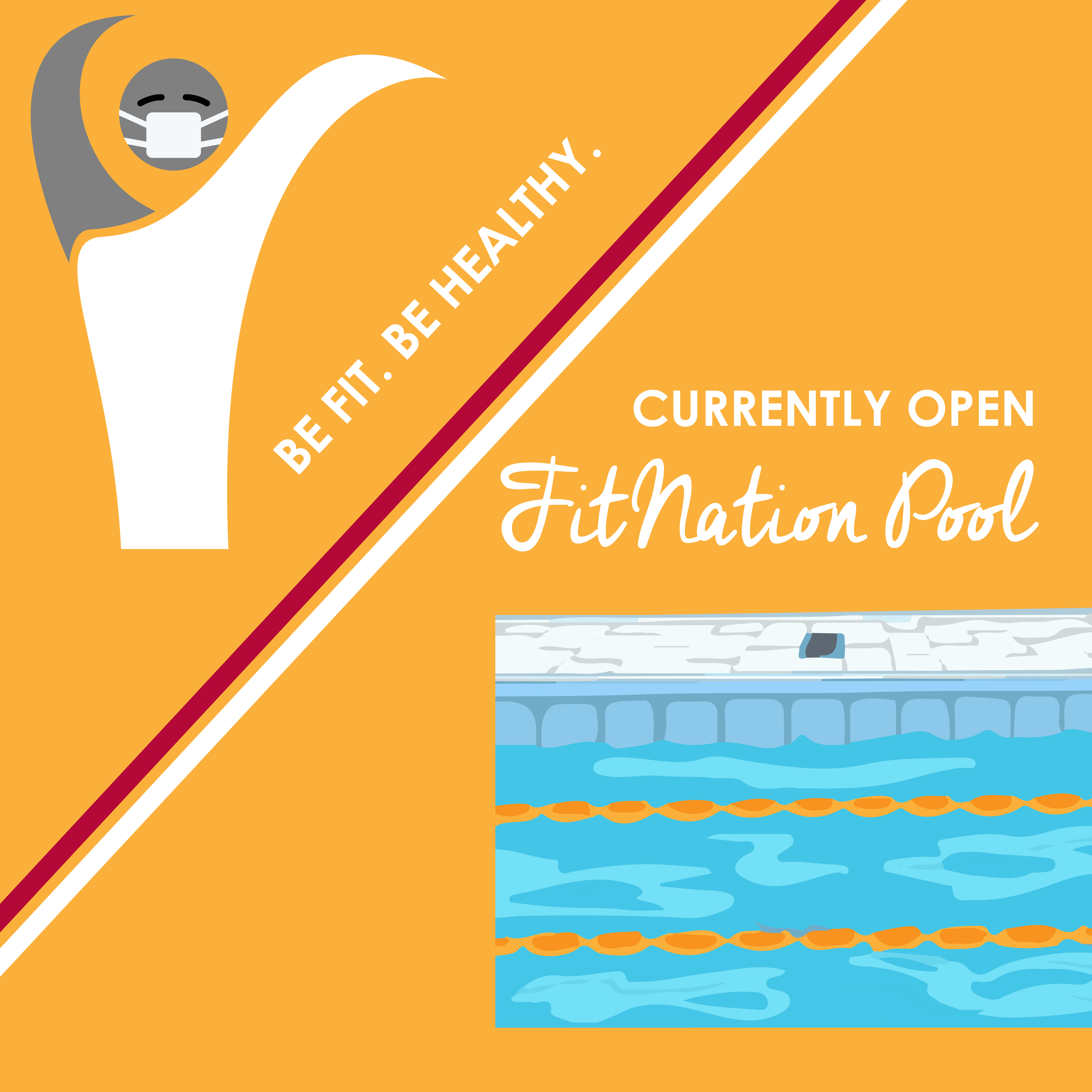 Indoor pool at FitNation Gurnee